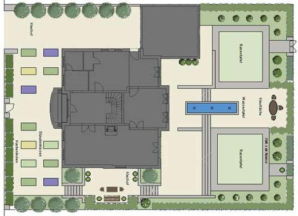 der romantische garten keller und keller. Black Bedroom Furniture Sets. Home Design Ideas