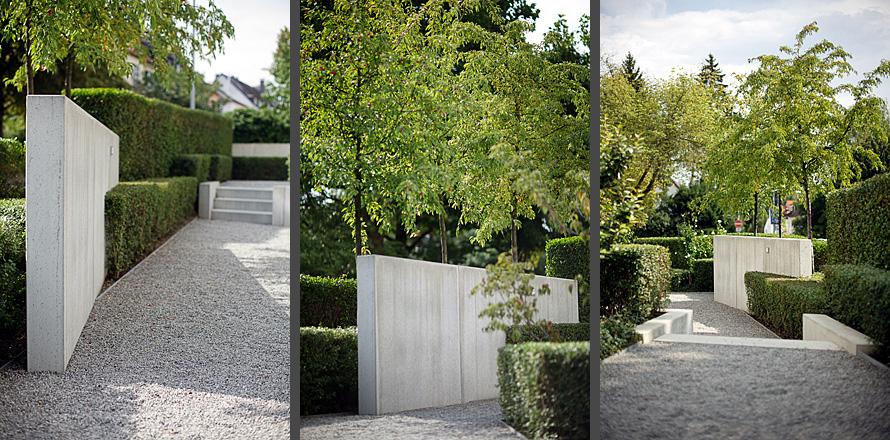 Vorgarten in Frankfurt - Keller und Keller - Landschaftsarchitekten Gartenarchitekten